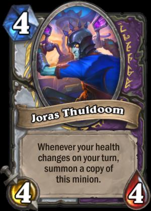 Joras Thuldoom Card