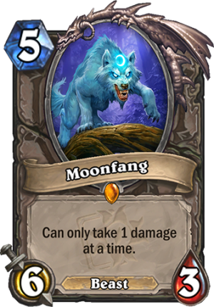 Moonfang Card