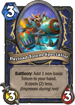 Payload Totem Specialist Card