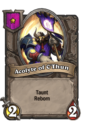 Acolyte of C'Thun Card!
