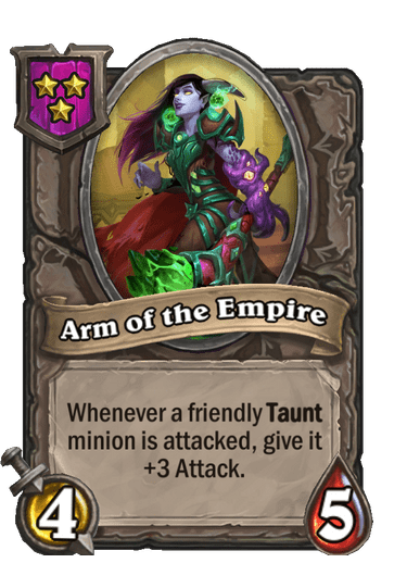 Arm of the Empire Card!