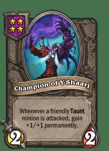 Champion of Y'Shaarj Card!