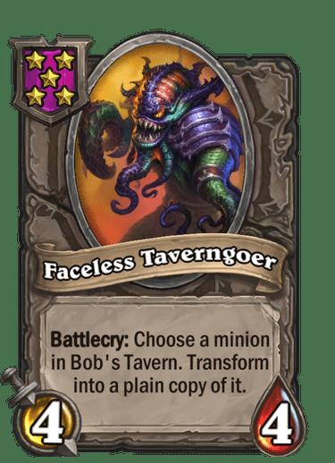 Faceless Taverngoer Card!