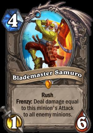 Blademaster Samuro Card