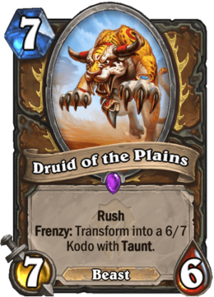 Druid of the Plains Card