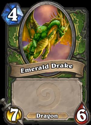 Emerald Drake Card