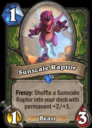 Sunscale Raptor Card