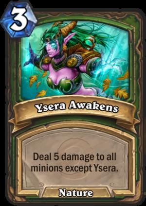 Ysera Awakens Card