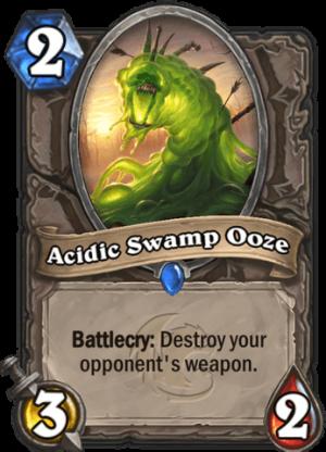 Acidic Swamp Ooze Card