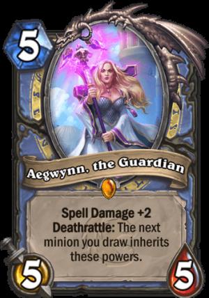 Aegwynn, the Guardian Card