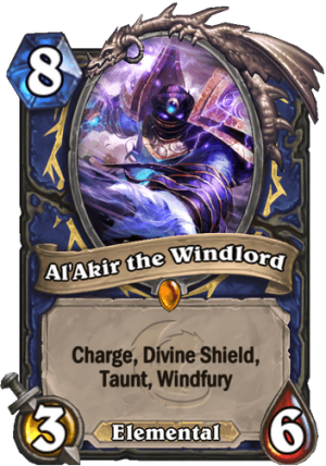 Al'Akir the Windlord Card