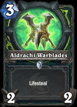Aldrachi Warblades Card