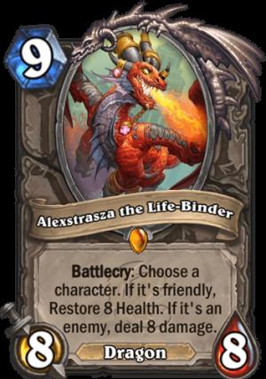 Alexstrasza the Life-Binder Card