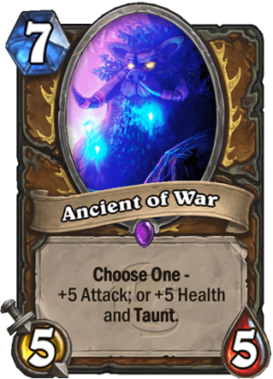 Ancient of War Card
