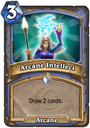 Arcane Intellect Card