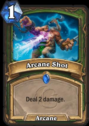 Arcane Shot Card