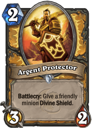 Argent Protector Card