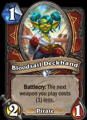 Bloodsail Deckhand Card