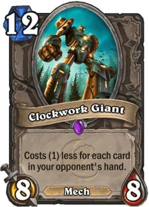 Clockwork Giant Card