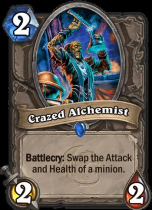 Crazed Alchemist Card