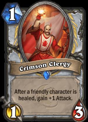 Crimson Clergy Card
