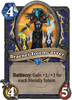 Draenei Totemcarver Card