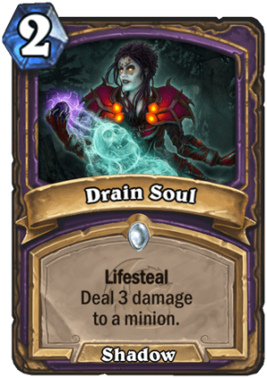 Drain Soul Card