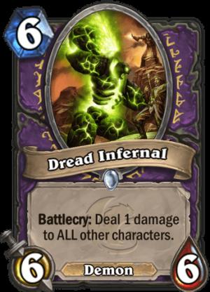Dread Infernal Card