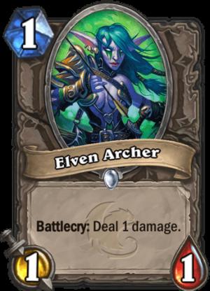 Elven Archer Card
