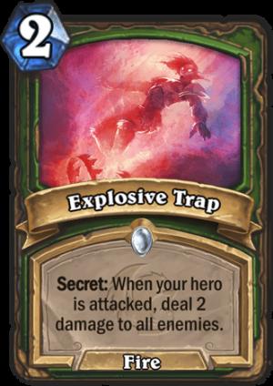 Explosive Trap Card
