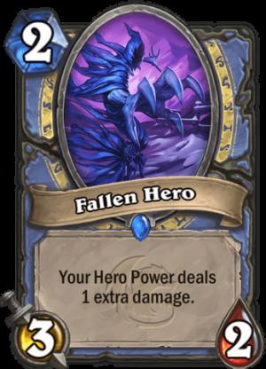 Fallen Hero Card