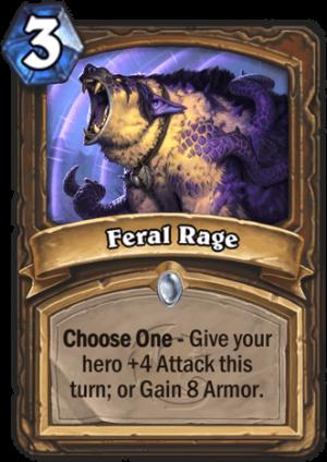 Feral Rage Card