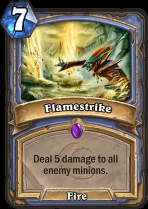 Flamestrike Card