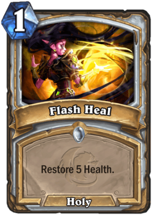 Flash Heal Card