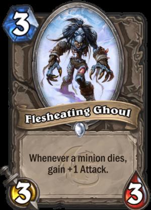 Flesheating Ghoul Card