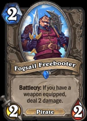 Fogsail Freebooter Card