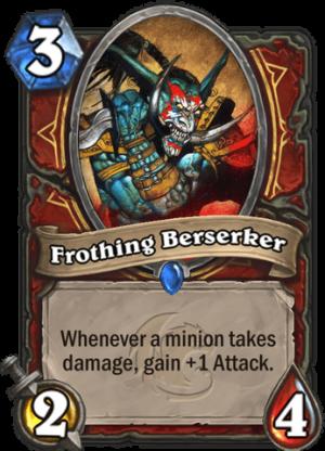 Frothing Berserker Card