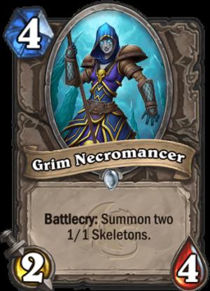 Grim Necromancer Card