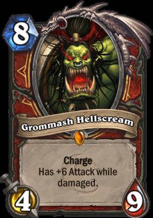 Grommash Hellscream Card