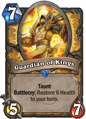 Guardian of Kings Card