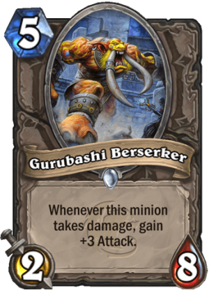 Gurubashi Berserker Card
