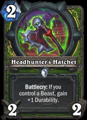 Headhunter's Hatchet Card