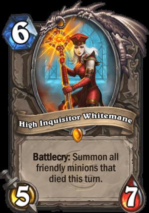 High Inquisitor Whitemane Card