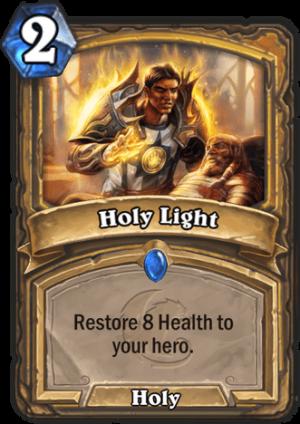 Holy Light Card