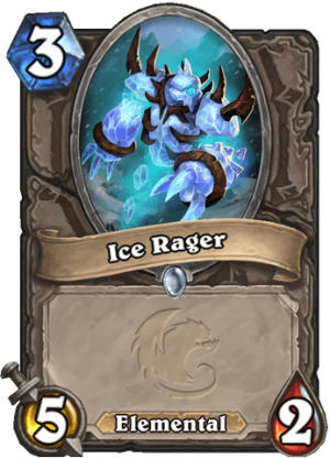 Ice Rager Card