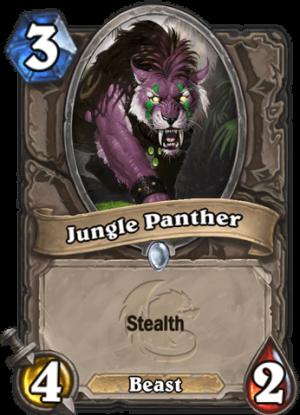 Jungle Panther Card