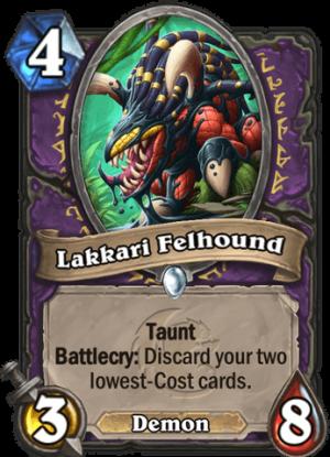 Lakkari Felhound Card