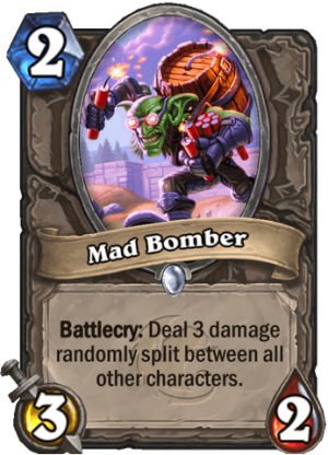 Mad Bomber Card