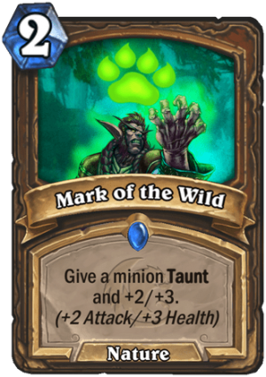 Mark of the Wild Card