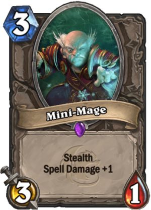 Mini-Mage Card